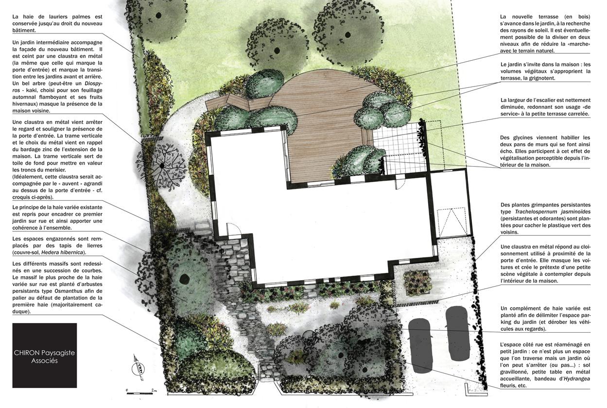 Se Cacher Des Voisins Dans Son Jardin jardin repensé pour accompagner l'évolution d'une maison